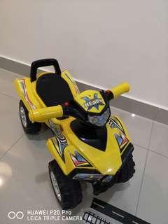 Toddler Four Wheel Bike