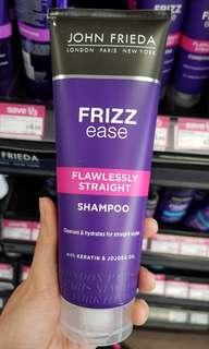 John Frieda FLAWLESS STRAIGHT shampoo