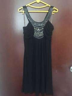 Dress pesta hitama/t xchange