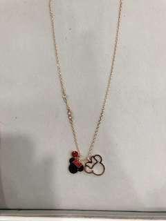 Swarovski Minnie Mouse Necklace