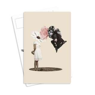 Vintage Postcard - Trader's Lover