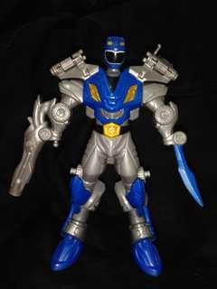 Combo power rangers Megaforce red n blue ranger