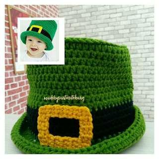 Topi Natal - Irish untuk Anak Bayi Size S
