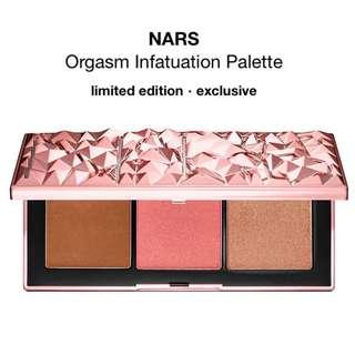🚚 BNIB Authentic NARS Orgasm Infatuation Palette Holiday 2018 Collection Instock