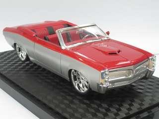 1:24 Pontiac GTO 合金模型