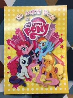 The Magical World of My Little Pony activity book