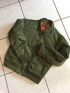 🚚 REALTHING CWU-45P Flying jacket  not MA1 MA2 alpha