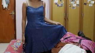 Cotton On Denim Summer Dress