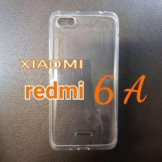 XIAOMI redmi 6A Soft Silicone Transparent Cover Phone Case