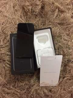 Jet black iphone7 128g