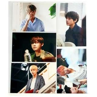 BTS Oh Always Exhibition 오,늘 Season 3 Live Photo 2018 Official Goods [RARE] - V