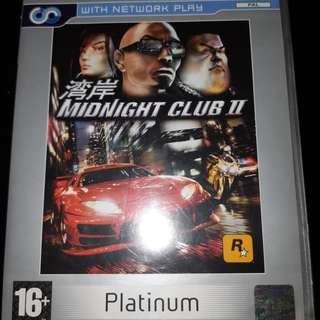 Used ps2 midnight club 2 racing car game