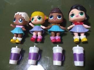LOL Baby Figurines