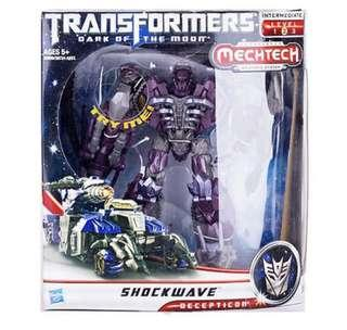 TRANSFORMERS DOTM - SHOCKWAVE [Unbox]