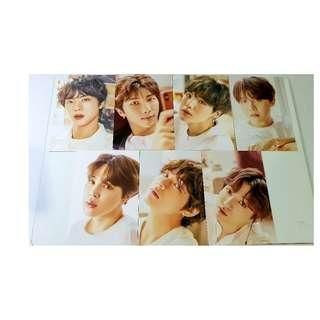 BTS Oh Always Exhibition 오,늘 Postcard Set A 2018 Official Goods [RARE]
