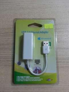 USB 2.0 Ether net Adapter