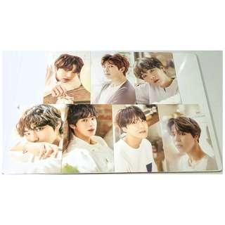 BTS Oh Always Exhibition 오,늘 Postcard Set B 2018 Official Goods [RARE]