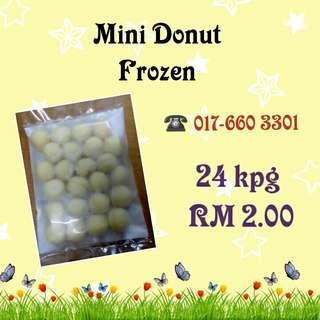 Mini Donut Frozen