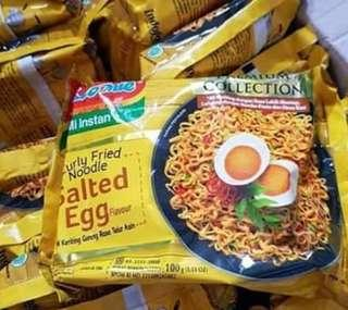 Indomie (salted egg yolk) imported (limited time) rm50 for one box