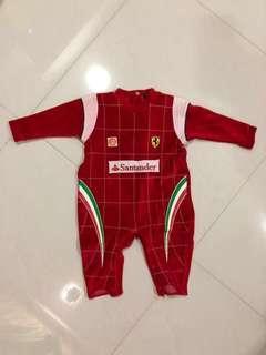Ferrari Fleece Sleepsuit