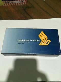 Singapore Airlines Die Cast