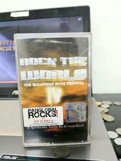Rock the world 4 cassete