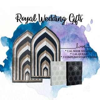 Royal Wedding Gifts Package - Hantaran
