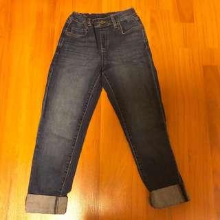 BN Uniqlo Boys Denim Jean Adjustable Waist Pants