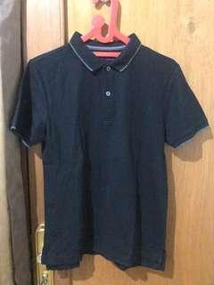 Giordano Polo Shirt. Warna Hitam