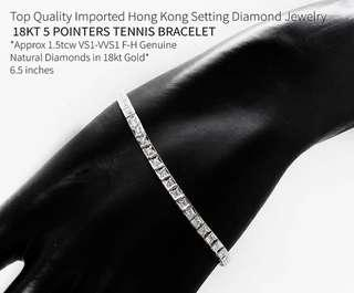PRE-ORDER! Until November 14, 2018 only Diamond Tennis Bracelets Send us a Direct Message to place your order HK settings Grab your Diamond Tennis Bracelet now!  #diamondsareforever #diamondsaregirlsbestfriend #diamonds #illusiondiamonds