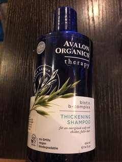 Avalon organics thickening shampoo 414ml