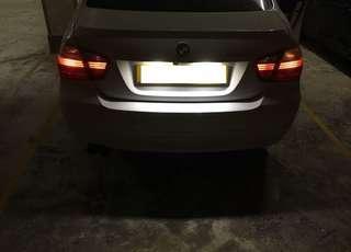 (多過100位師兄親身驗証) AUDI & BMW 超白光LED車牌燈 (多款型號岩用) 如果唔岩裝, 可退錢!