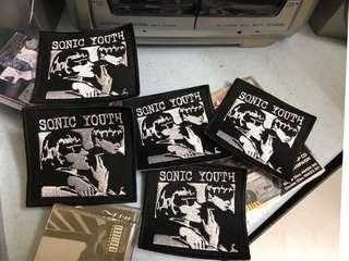 Sonic Youth patches