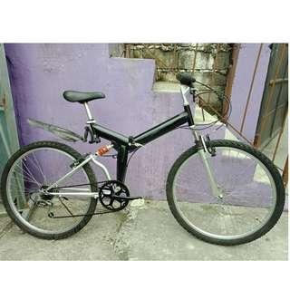 japan folding mt bike (free delivery and negotiable!)