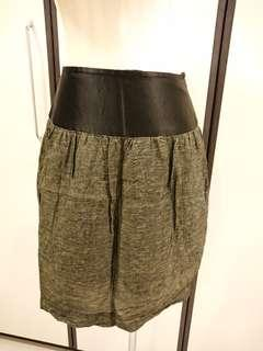 CNY Sales! Green Skirt Size S