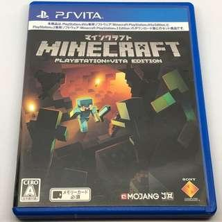 PSV Minecraft PlayStation Vita Edition