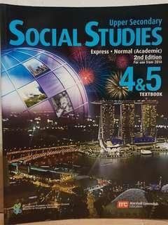 (3 for $10) Social Studies Textbook Upper Secondary Express/Normal