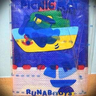 全新 日本製 Runabouts sanrio 車仔 沙灘蓆 野餐 蓆