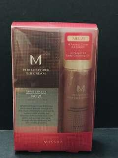 Missha M Perfect Cover BB Cream No#21 & Deep Cleaning Oil 卸妝油