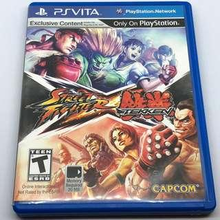 PSV Street Fighter X Tekken