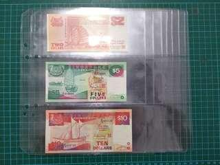 [USED] Banknote Sleeves Refill - READ DESCRIPTION