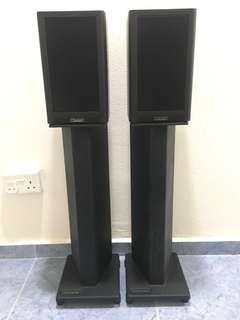Mission 760i With Atacama Speakers Stands And Speaker Cables