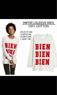 H&M long sweatshirt