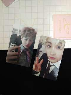 NCT Mark Chenle Unofficial Photocard