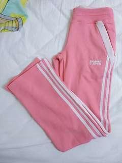adidas original sport bright pink sweatpants