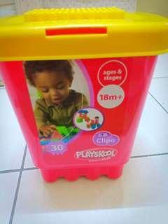 Playskool Clipo Vehicle Mini Bucket