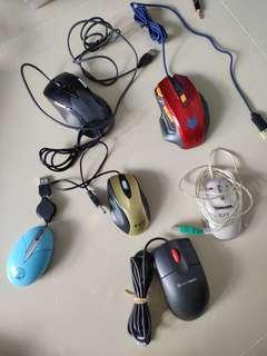 🎇❴清倉價❵ 99%新 時尚實用滑鼠數個