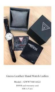 Guess Leather Hand Watches