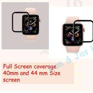 Apple iWatch 4th generation 3D hot bending tempered film full screen (40/ 44mm)