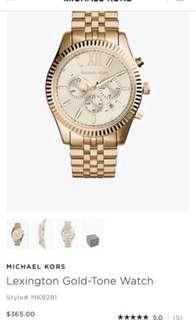 Michael Kors gold watch *PRICE DROP*